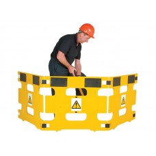 Folding Safety Barriers (Set of 3) CSLH